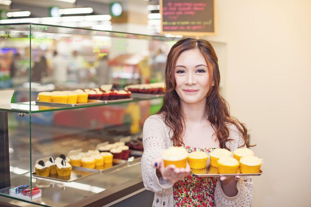 Stands ou Loja de Cupcakes