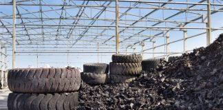Usina de Reciclagem de Pneus
