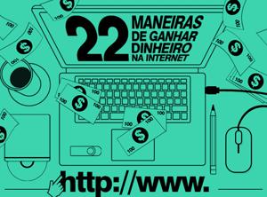 Infográfico 22 Maneiras de Ganhar Dinheiro Na Internet