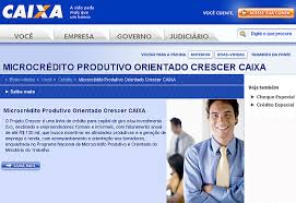Microcrédito Caixa