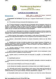 Contratos de Franquia