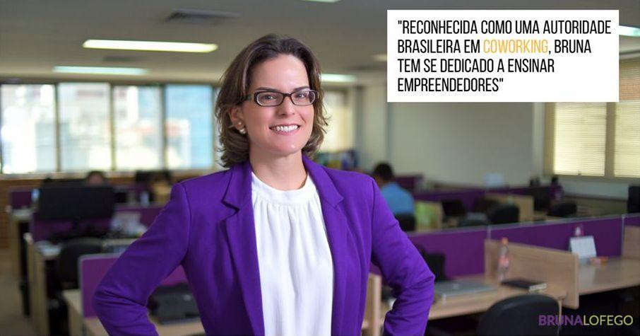 Bruna Lofego: negócio para auxiliar novos empreendedores