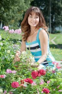 Plantação de Rosas