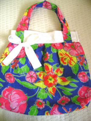 bolsa de tecido chita