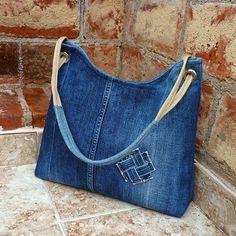 bolsa de tecido jeans