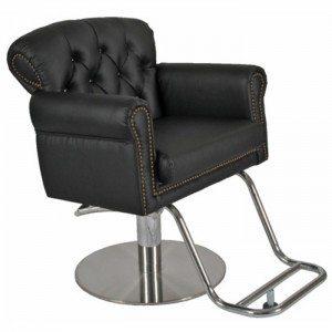 conforto das cadeiras de cabeleireiro