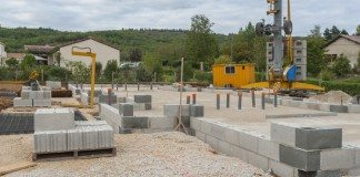 Máquina de Fabricar Blocos de Concreto