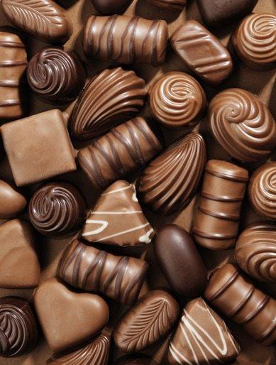 Como Fazer Bombons de Chocolate