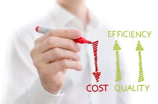 Ao ser um franqueado você conseguirá diminuir os custos e ter maior eficiência!