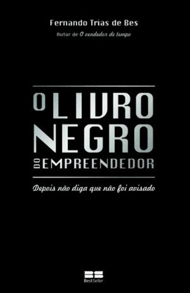 livro negro do empreendedor