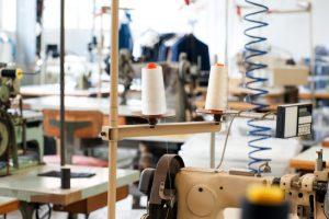mercado de roupas