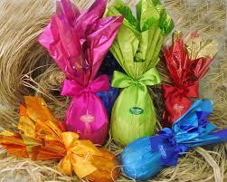 Embalagens para ovos de Páscoa